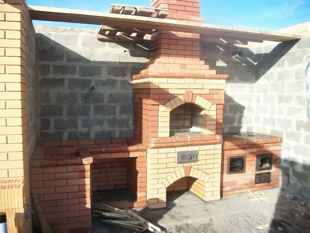 Маленькая печь для дачи: выбор между металлом и кирпичом и схема 2